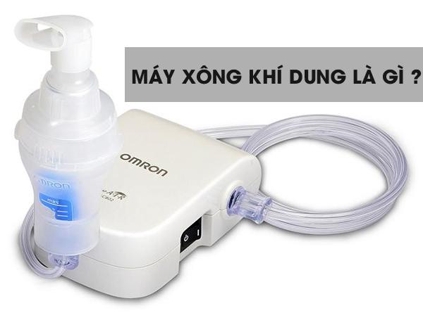 Hướng dẫn sử dụng máy xông khí dung hiệu quả