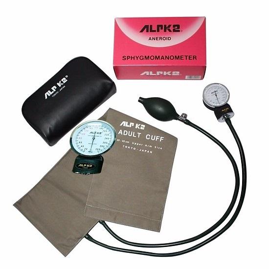 Bộ đo huyết áp cơ Alpk2 (đồng hồ 500V + tai nghe FT-801) - Nhật Bản