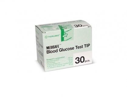 Test thử, que thử đường huyết Terumo Medisafe (30 test)