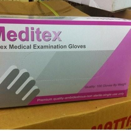 Găng tay y tế, găng khám Meditex (Malaixia)