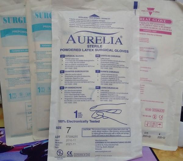 Găng tay y tế, găng khám Aurelia (Malaixia)
