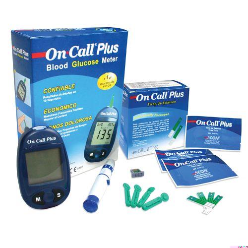 Que thử đường huyết ON-CALL Plus (25 que rời)