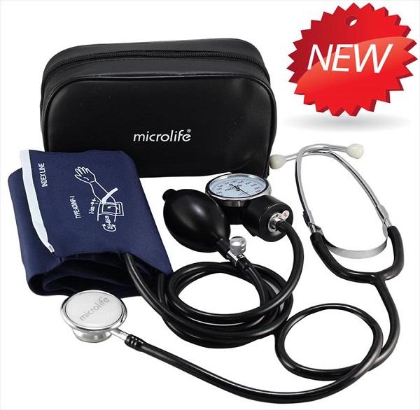 Bộ đo huyết áp cơ Microlife AG1-20 (Microlife AG1 20, kèm tai nghe)