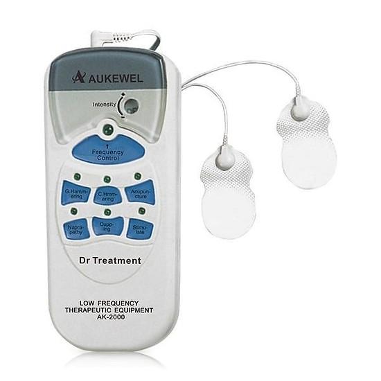 Máy massage xung điện Aukewel Dr Super AK-2000 có 4 miếng dán